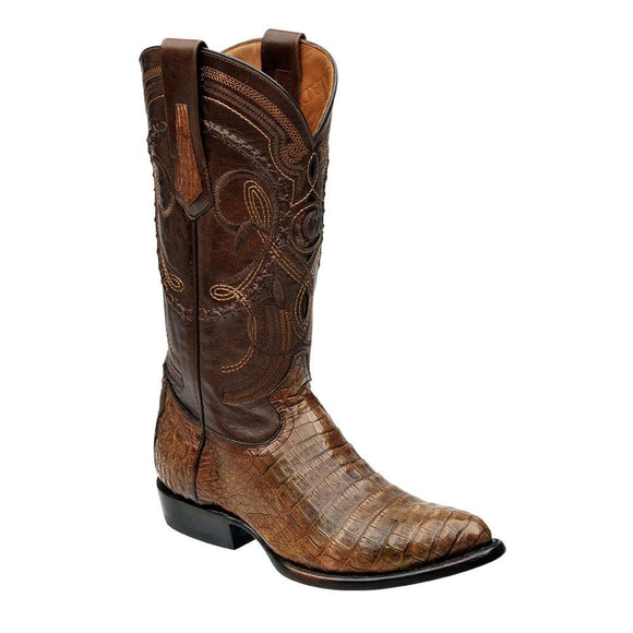 Cuadra Men's Porto Caiman Belly Cowboy Boots - Maple - RR Western Wear, Cuadra Men's Porto Caiman Belly Cowboy Boots - Maple
