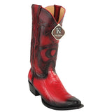 Red-Burnished-Ostrich-Leg-Snip-Toe-Boot-