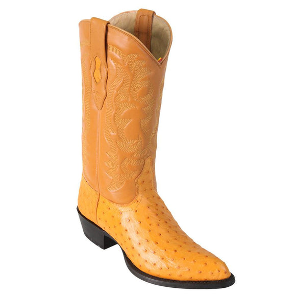Ostrich-J-toe-cowboy-boot-Los-altos-butt