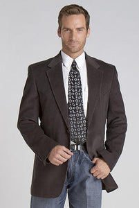 Circle S Men's Apparel - Lubbock - Sport Coat - Grey - RR Western Wear, Circle S Men's Apparel - Lubbock - Sport Coat - Grey