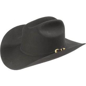 4x Larry Mahan El Dorado Fur Felt Hat Black - RR Western Wear, 4x Larry Mahan El Dorado Fur Felt Hat Black