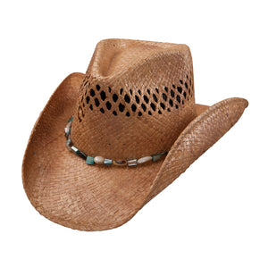 Charlie 1 Horse Maui Wowi - Shapeable Straw Cowboy Hat - RR Western Wear, Charlie 1 Horse Maui Wowi - Shapeable Straw Cowboy Hat