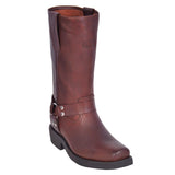 Mens-Motercycle-Style-Boots-Grasso-Brown