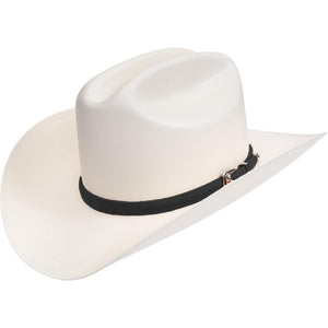 RRango Hats  10000x Sombrero Sinaloa Style Hat Black Ostrish Band