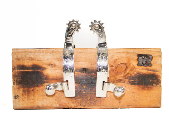 Youth Stainless Steel Riding Spurs