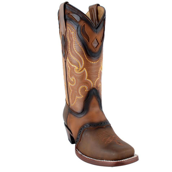 Quincy-Boots-Womens-Crazy-and-Grasso-Leather-Brown-Rodeo-Toe-Western-Boot