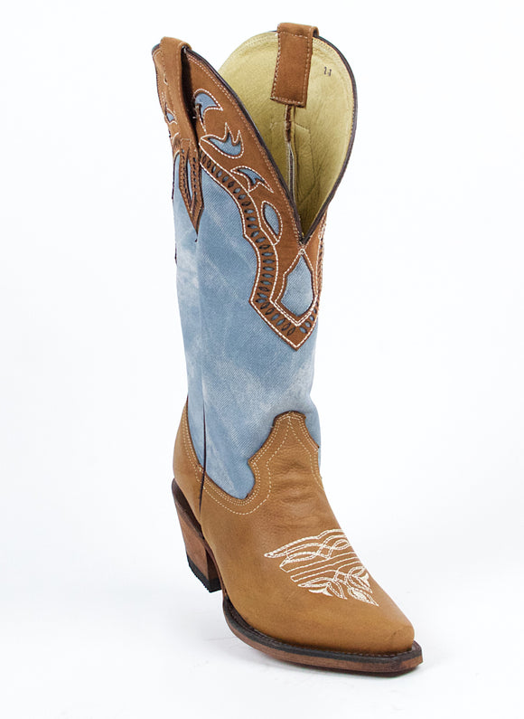Quincy-Boots-Womens-Crazy-Leather-Chedron-Snip-Toe-Western-Boot