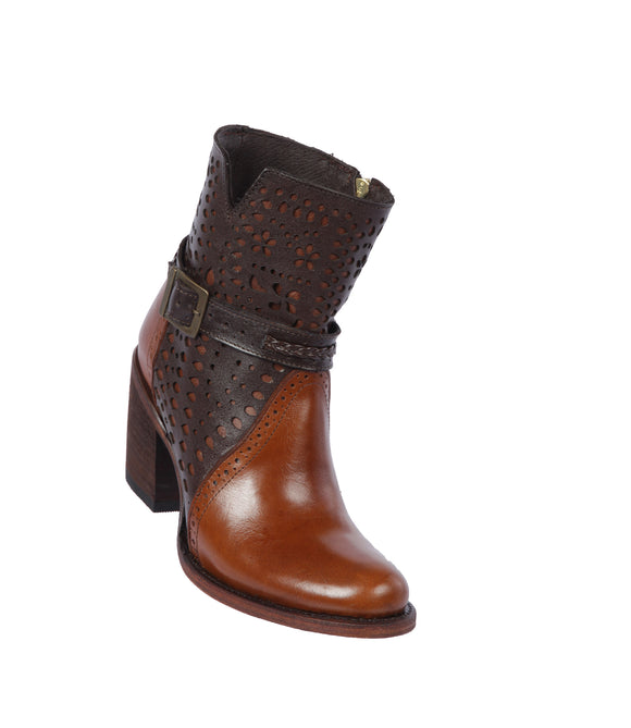 Quincy-Boots-Womens-Fashion-Floater-Leather-with-Print-Cognac/Brown-Round-Toe-Western-Boot