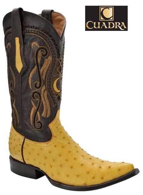 Men's CUADRA Boots Ostrich Yellow Chihuahua - Y341A1