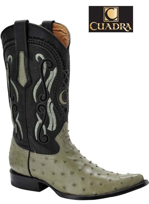 Men's CUADRA Boots Ostrich Pistacho Chihuahua - Y341A1