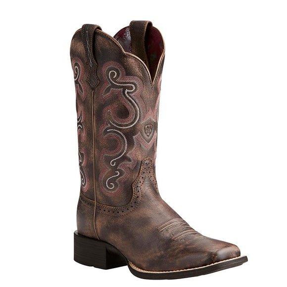 Ariat Women's Quickdraw Tack Room Chocolate - RR Western Wear, Ariat Women's Quickdraw Tack Room Chocolate