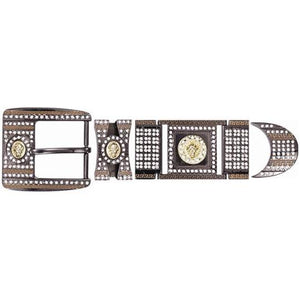 BLACK CHROME HARDWARE WITH DIAMONDS BK909628 - RR Western Wear, BLACK CHROME HARDWARE WITH DIAMONDS BK909628