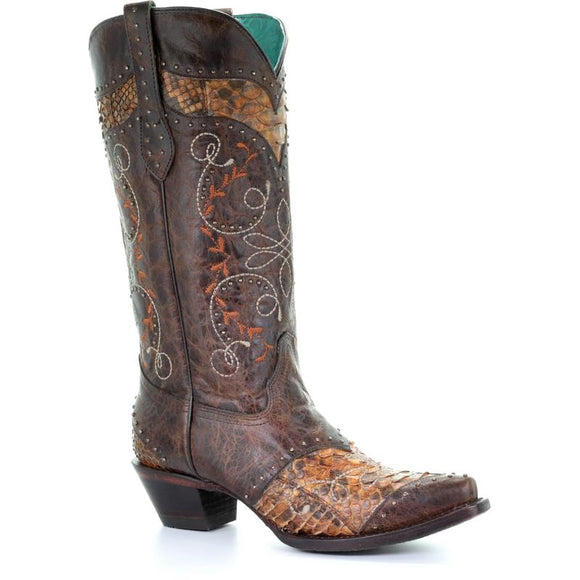 Women's Corral Western Boots Handcrafted - A3686