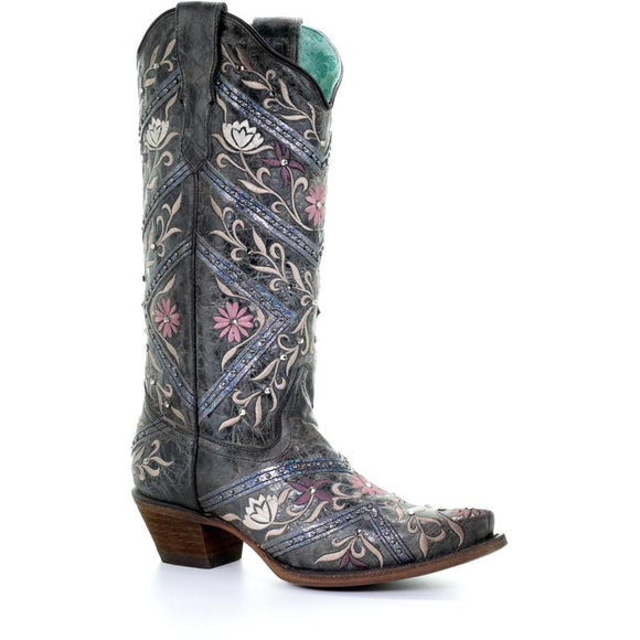 Women's Corral Western Boots Handcrafted - E1482