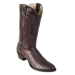 Caiman-Belly-Round-Toe-Brown-Los-Altos-B
