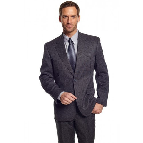 Circle S Men's Apparel - Heather Vegas Sportcoat - Charcoal - RR Western Wear, Circle S Men's Apparel - Heather Vegas Sportcoat - Charcoal