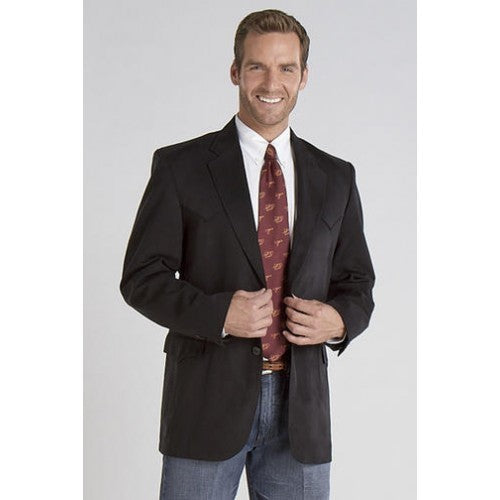 Circle S Men's Apparel - Houston - Sport Coat - Black - RR Western Wear, Circle S Men's Apparel - Houston - Sport Coat - Black