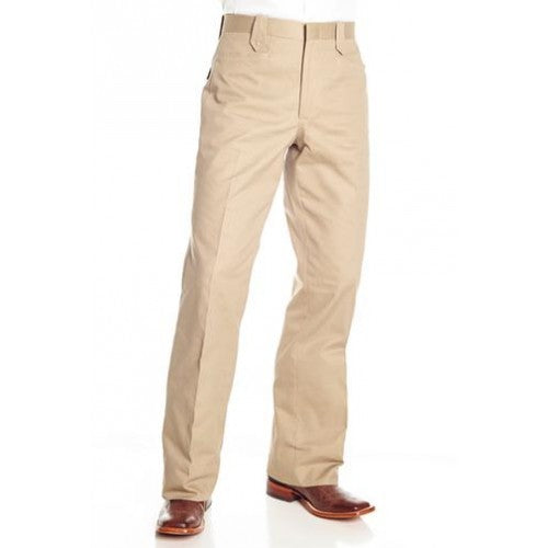 Circle S Men's Apparel - Cotton Snap Dress Ranch Pant - Khaki  Circle S Me - RR Western Wear, Circle S Men's Apparel - Cotton Snap Dress Ranch Pant - Khaki  Circle S Me