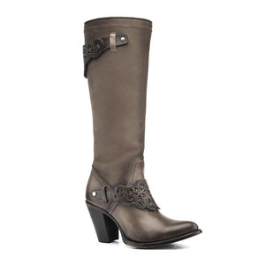 Cuadra Crust Wax Taupe Tall Boot - RR Western Wear, Cuadra Crust Wax Taupe Tall Boot