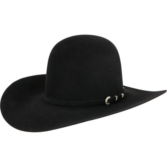 American Hat Co 40X Black Open Crown 4-1/4