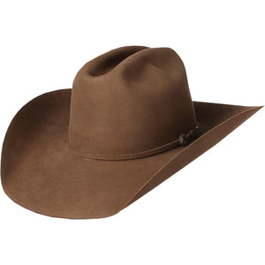 "American Hat Co 200x Pecan 4-1/4"" Brim Felt Open Crown Cowboy Hat - RR Western Wear, American Hat Co 200x Pecan 4-1/4"" Brim Felt Open Crown Cowboy Hat"