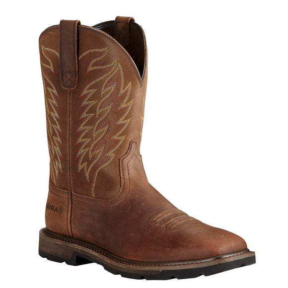 Ariat Mens Groundbreaker Square Toe Work Boots - RR Western Wear, Ariat Mens Groundbreaker Square Toe Work Boots