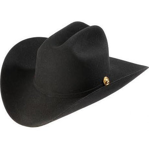 5x Larry Mahan Norte Fur Felt Cowboy Hat Black - RR Western Wear, 5x Larry Mahan Norte Fur Felt Cowboy Hat Black