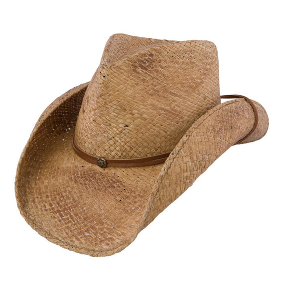 Charlie 1 Horse Pacifico - Shapeable Straw Cowboy Hat - RR Western Wear, Charlie 1 Horse Pacifico - Shapeable Straw Cowboy Hat