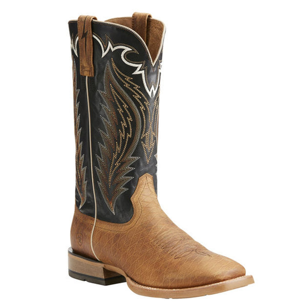 Ariat Men's Cattleguard Brown Top Hand Western Boot - RR Western Wear, Ariat Men's Cattleguard Brown Top Hand Western Boot