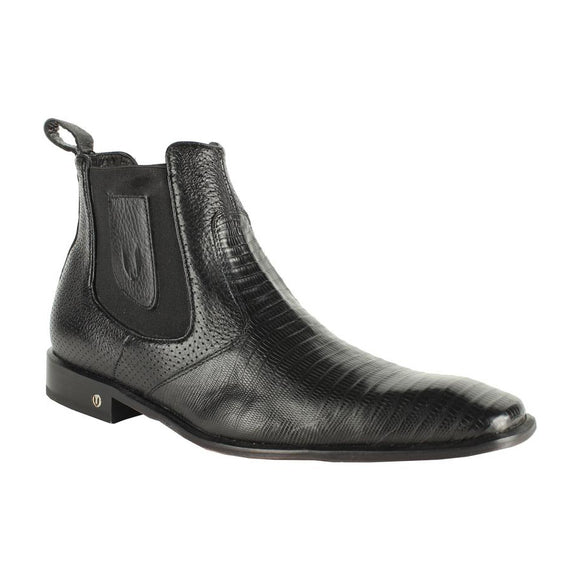 Men's Vestigium Genuine Lizard Chelsea Boots Handcrafted - 7BV010705