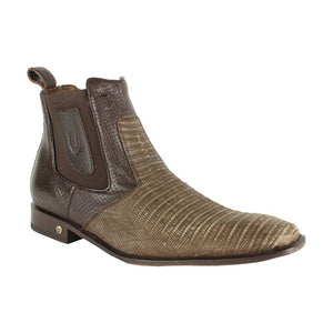 Men's Vestigium Genuine Lizard Chelsea Boots Handcrafted - 7BV010735