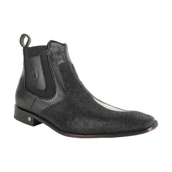 Men's Vestigium Genuine Stingray Chelsea Boots Handcrafted - 7BV011205