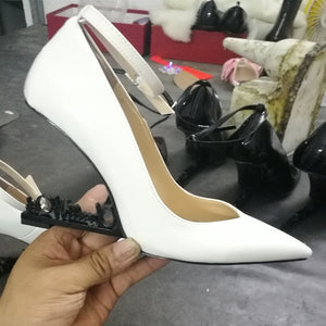 Runway Patent Leather Shoe