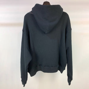 Sweatshirt Velvet fabric with Hood