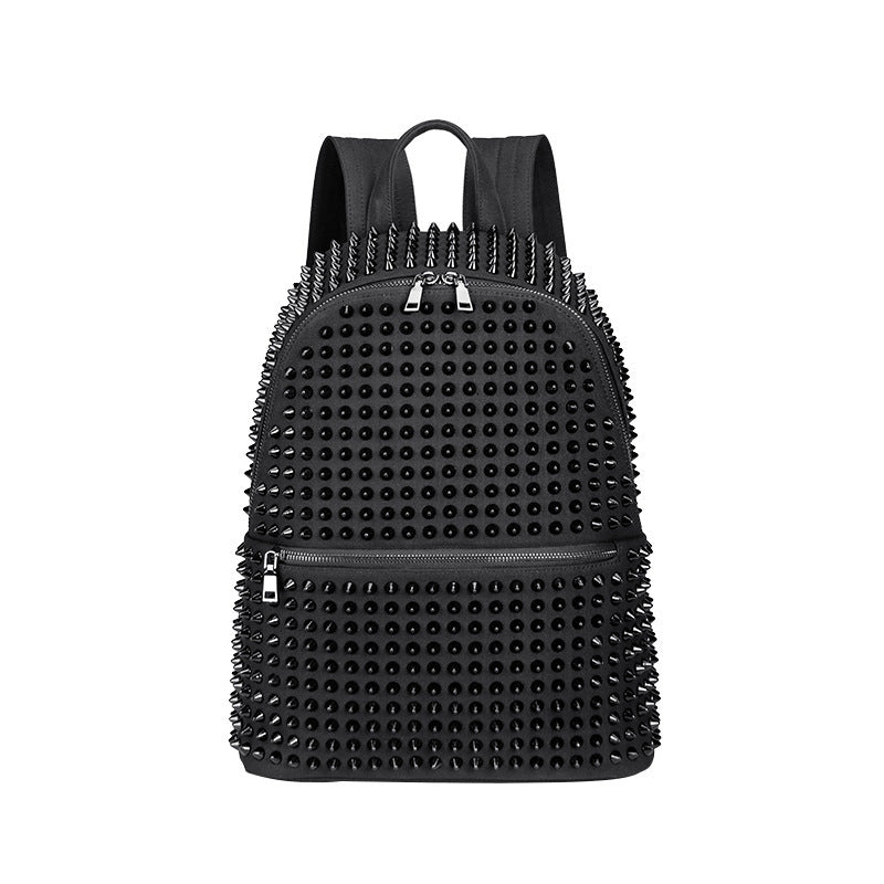 Backpacks Rivet Black Soft Washed Leather Bag