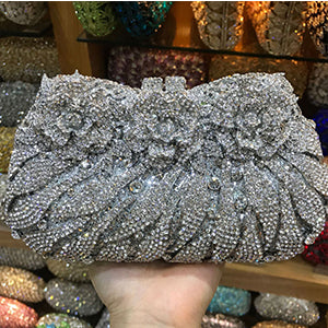 Diamond Chrystal Clutch