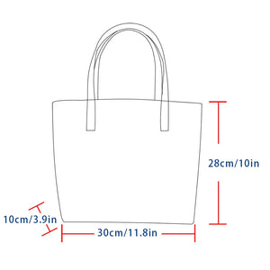 Genuine Leather Sicily Hue Tote Bag