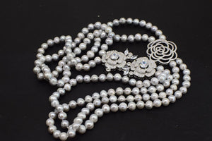 "Freshwater Pearl 7-9 mm 24-26"" Necklace"