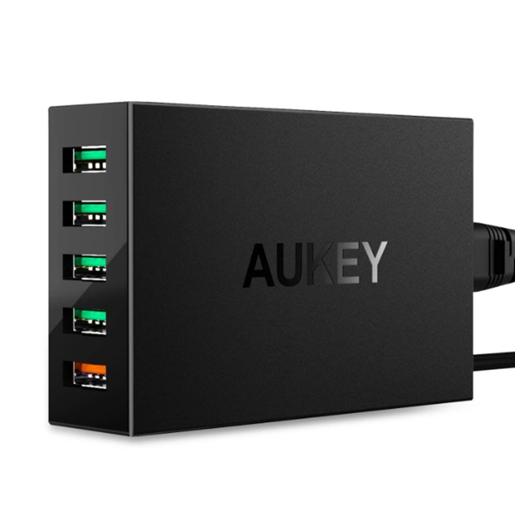 Aukey 5-Port USB Charging Station with Quick Charge 3.0 (PA-T15)