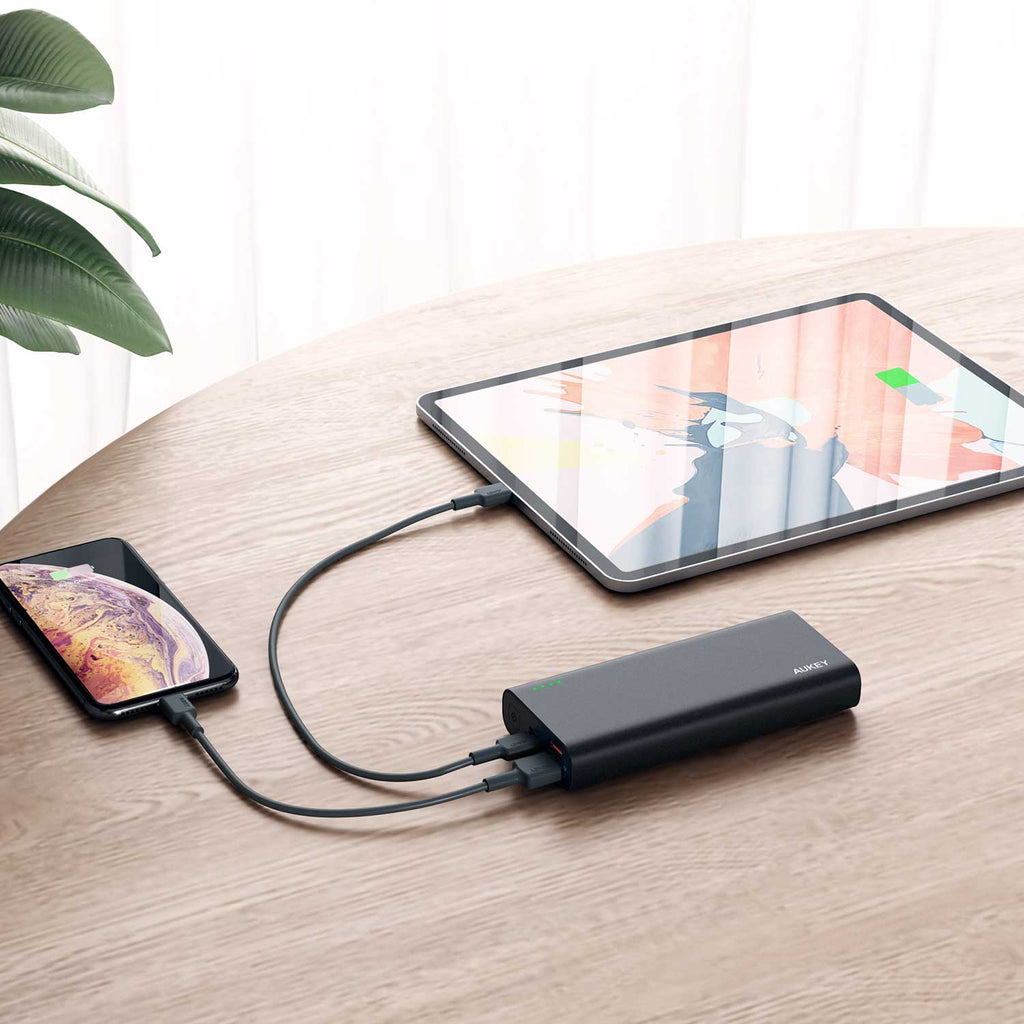 Aukey 20000 mAh QC3.0 & Power Delivery Power Bank (PB-XD13)