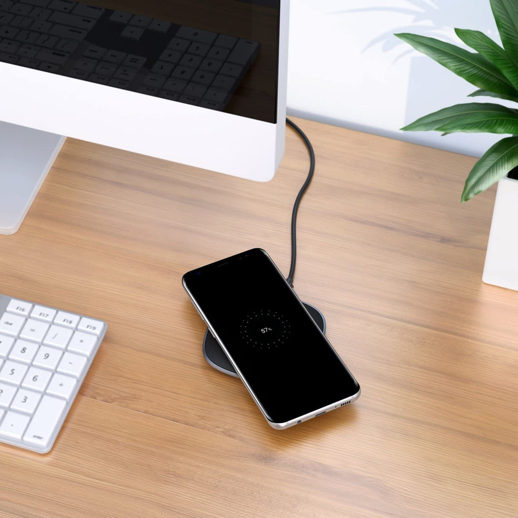 Aukey 5W Graphite Wireless Charger Pad ( LC-C5 )