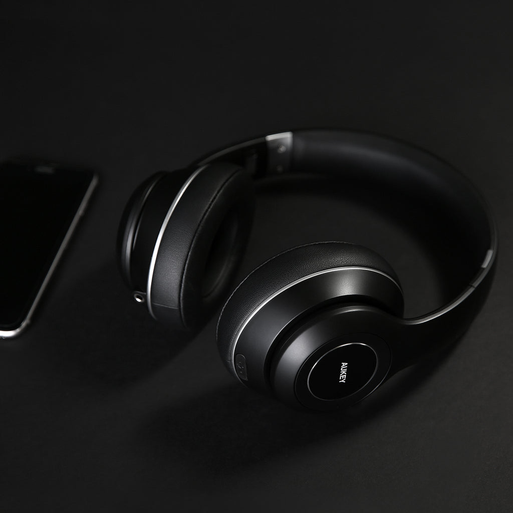 Aukey Foldable On-Ear Wireless Headphones (EP-B52)