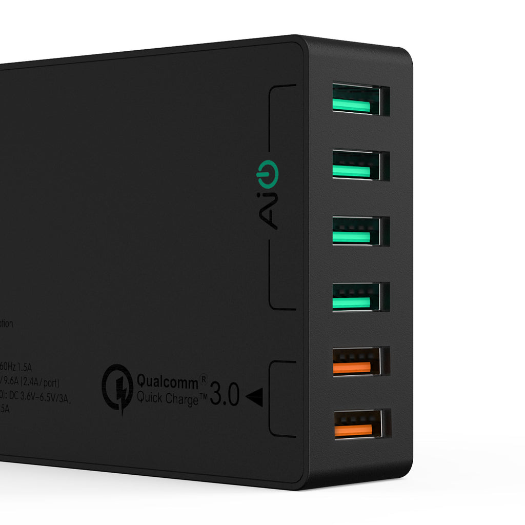 Aukey 6-Port USB Charging Station with Quick Charge 3.0 (PA-T11)