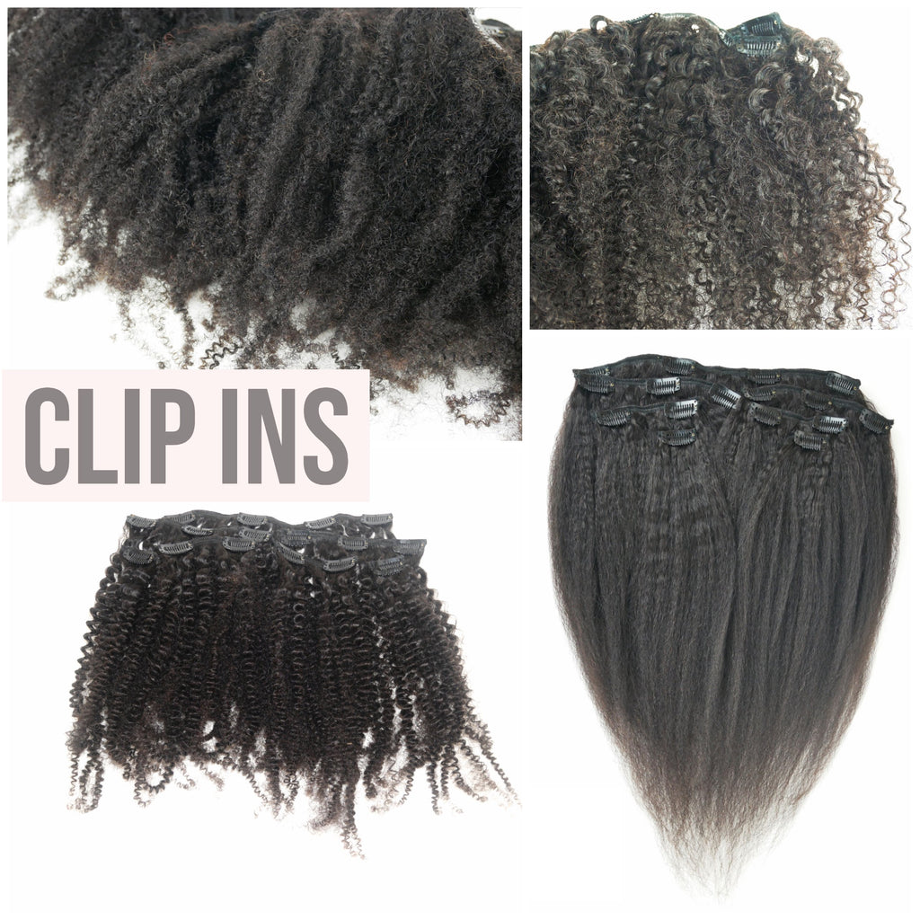 Natural Hair Clip ins- www.curly2kinky.com