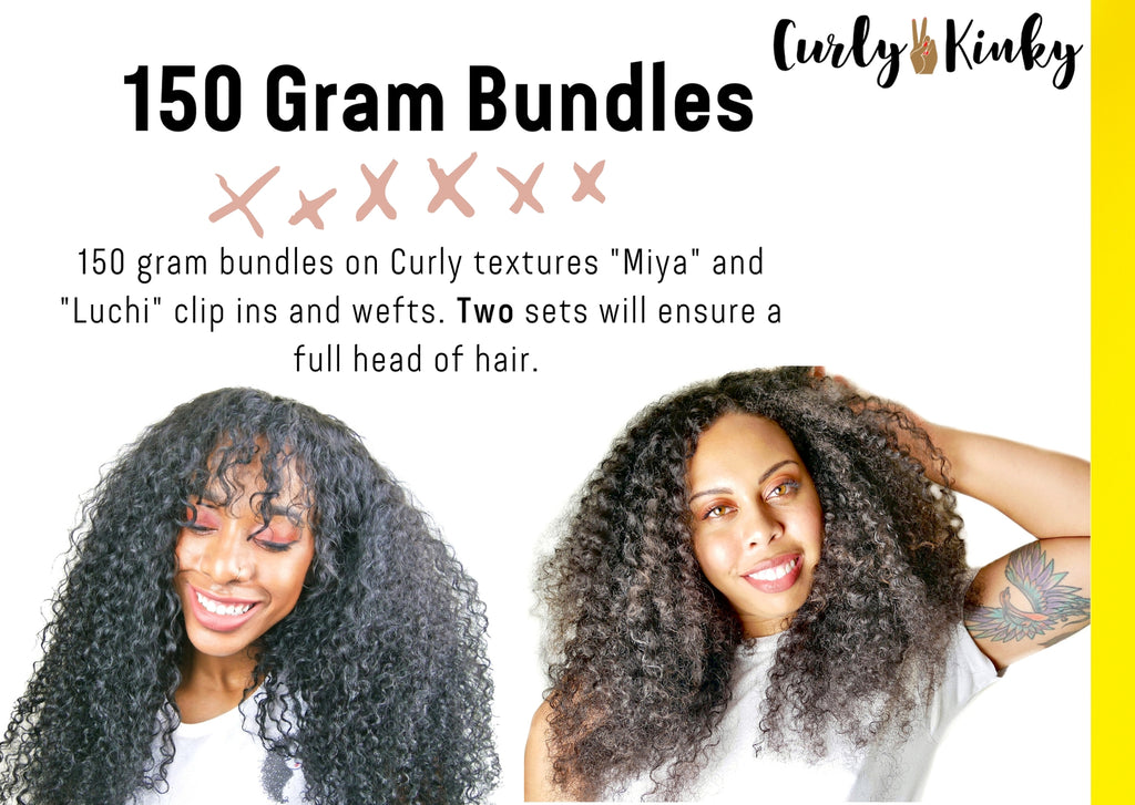 curly hair clip ins -www.curly2kinky.com