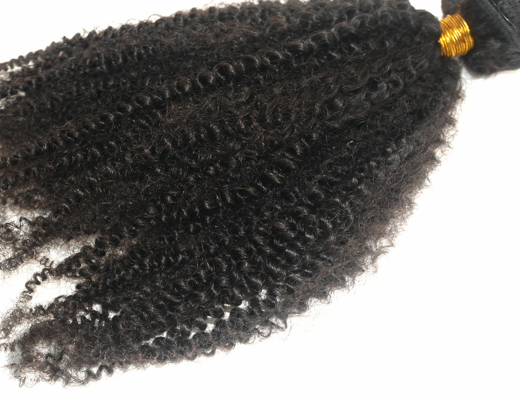 4a4b Natural Hair Extension Wefts - Curly2Kinky