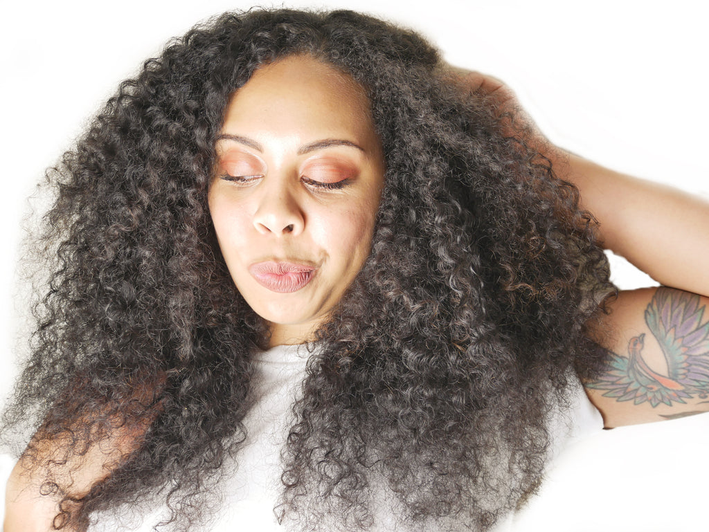 "Curly ""Miya""  Natural Hair Wefts - Curly2Kinky"