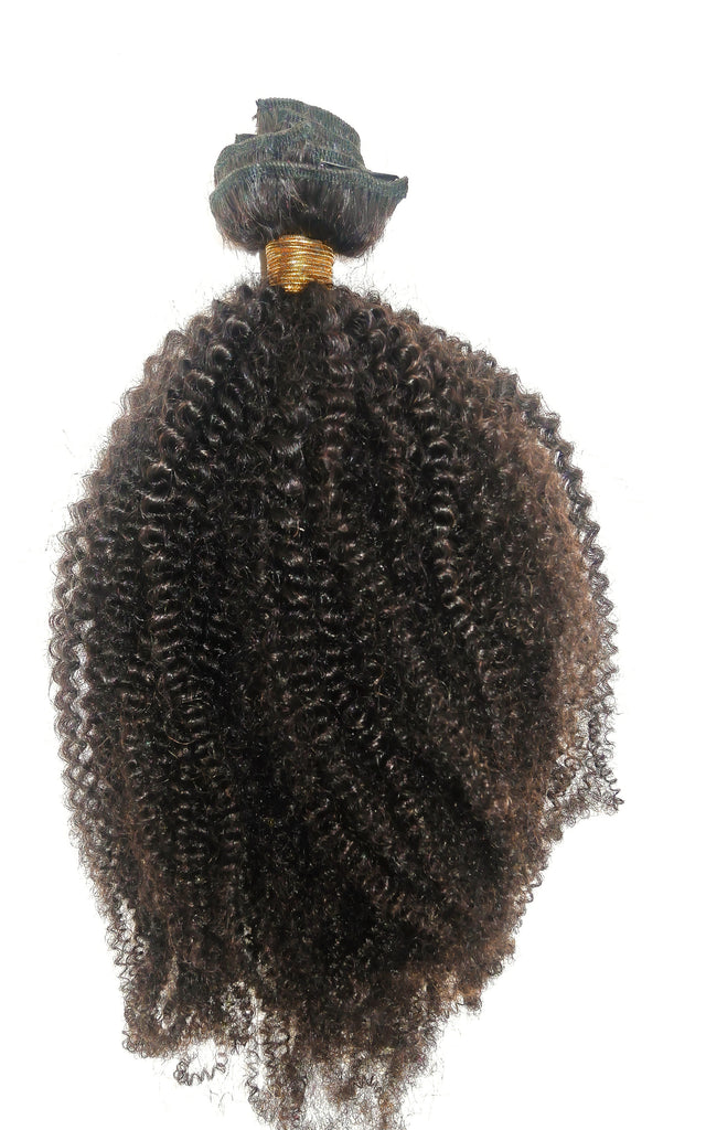 4b4c Natural Hair Extension Wefts - Curly2Kinky