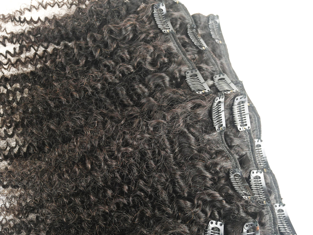 4a Clip Ins - Curly2Kinky