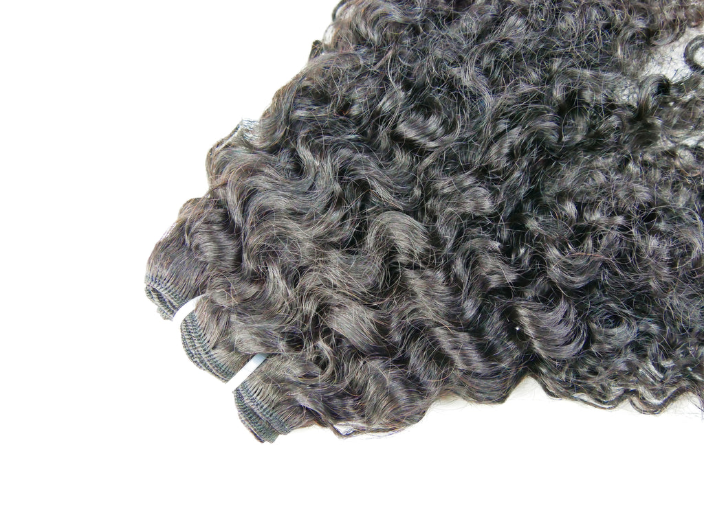 "Curly ""Miya""  Natural Hair Clip Ins - Curly2Kinky"